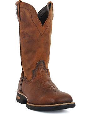 Cinch Men's WRX Flame Resistant Work Boots - Square Toe, Rust Copper, hi-res