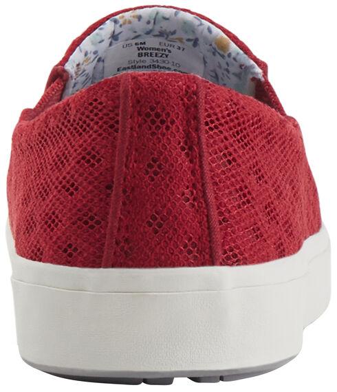 Eastland Women's Red Breezy Slip-On Sneakers, Red, hi-res