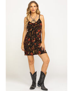 Idyllwind Women's Heart Breaker Dress, Burgundy, hi-res