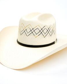 Resistol Men's George Strait 20X Renner Western Straw Hat , Natural, hi-res