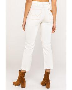 Wrangler Women's Bone Ivory Heritage Crop Straight Jeans , Ivory, hi-res