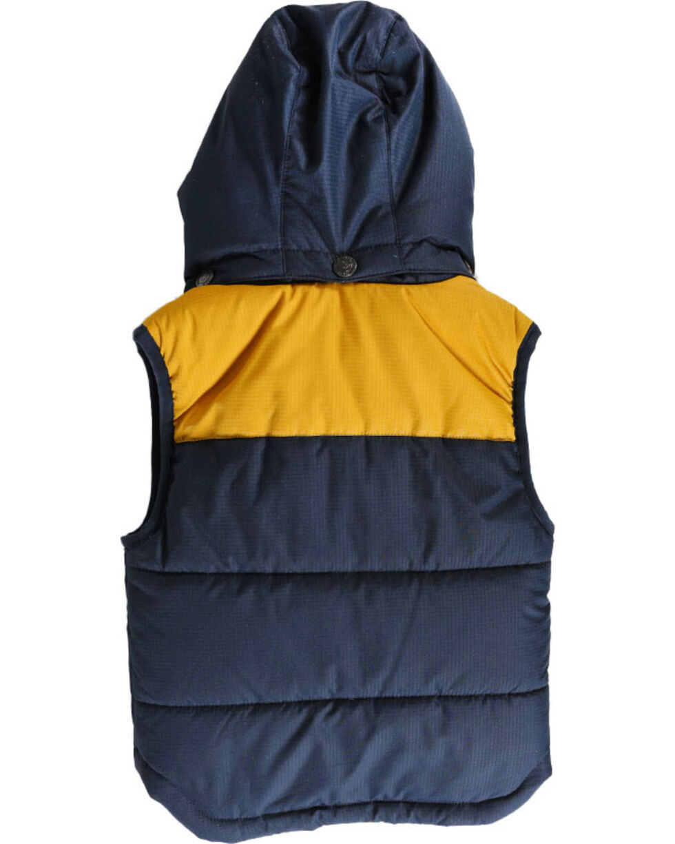 Cody James Toddler Boys' Hooded Puffer Vest , Navy, hi-res