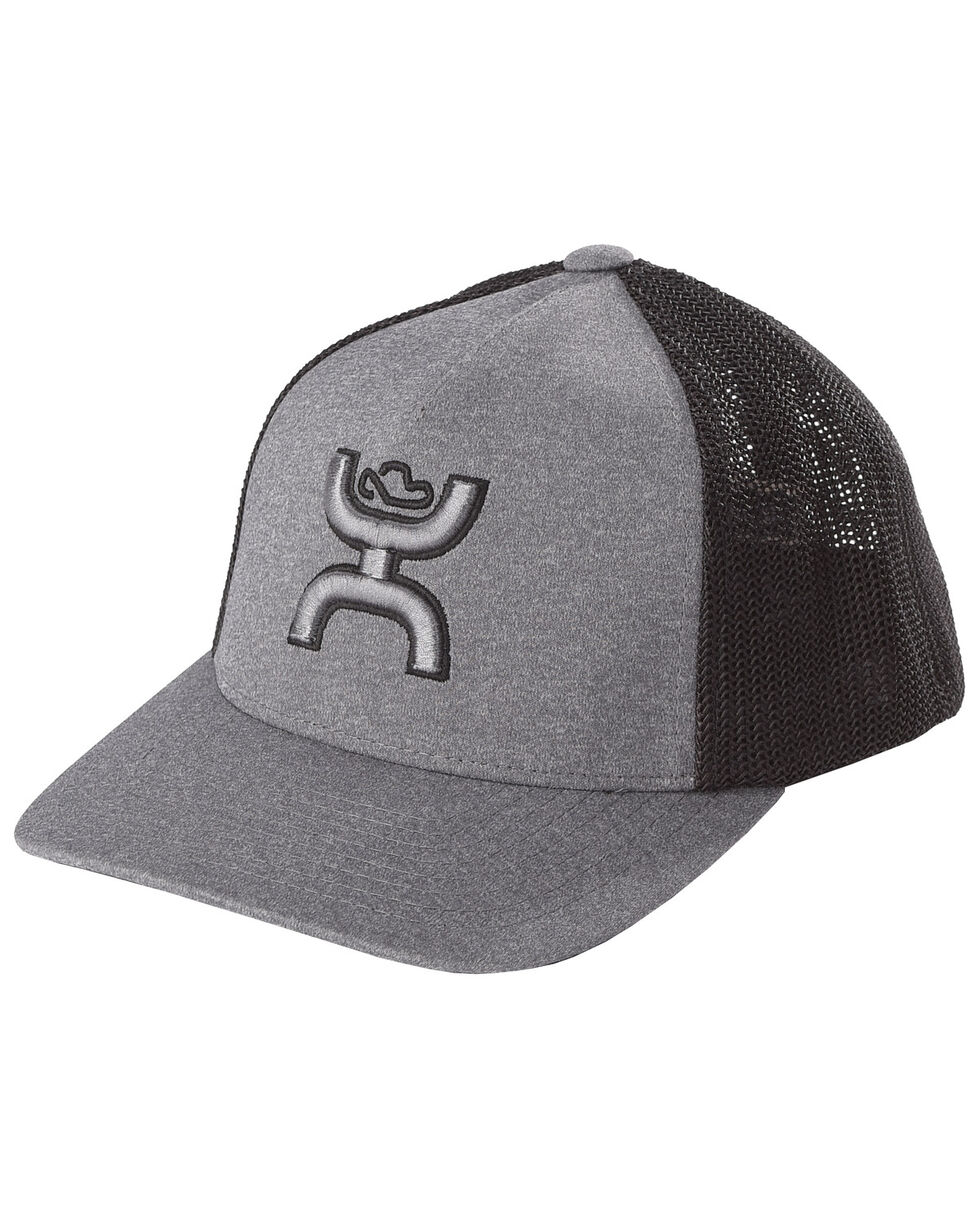 HOOey Youths' Grey Coach FlexFit Cap , , hi-res
