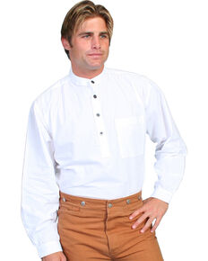Rangewear by Scully Solid Frontier Shirt, White, hi-res