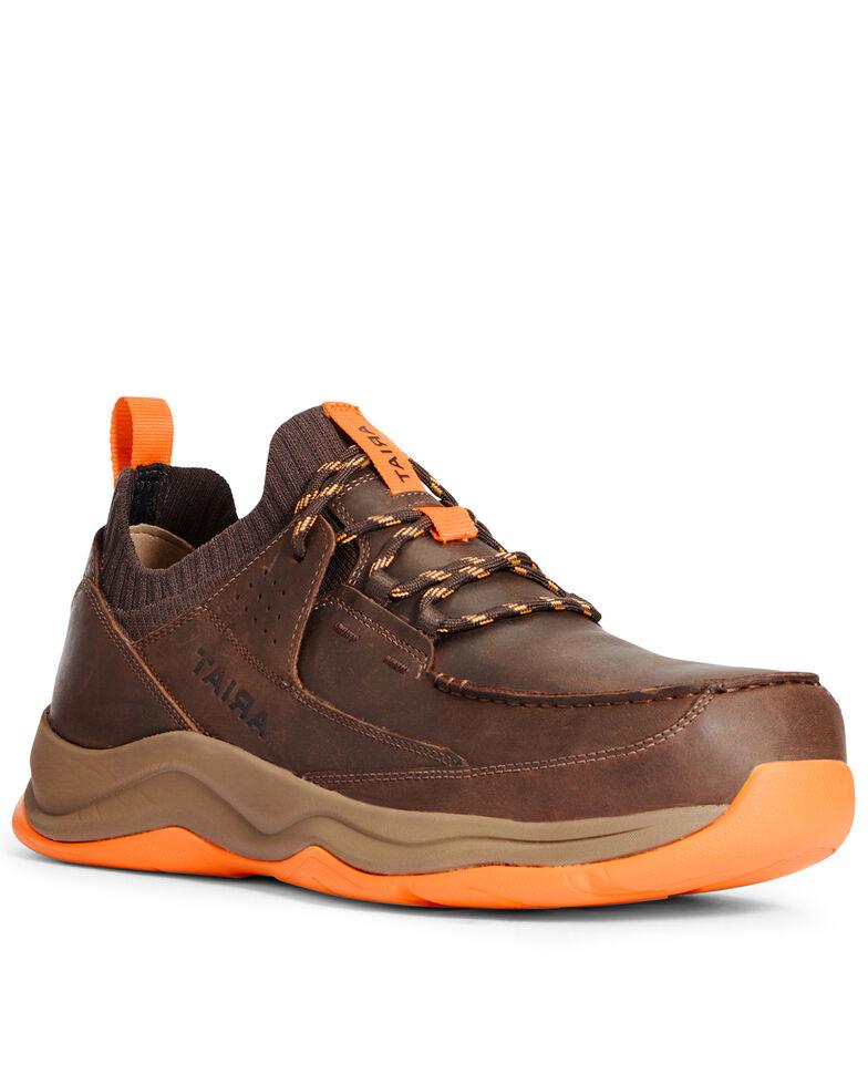 Ariat Men's Working Mile Work Boots - Composite Toe, Brown, hi-res