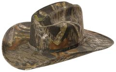 Mossy Oak Camouflage Cowboy Hat, Camouflage, hi-res