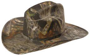 Mossy Oak Camouflage Cowboy Hat, Camouflage, hi-res