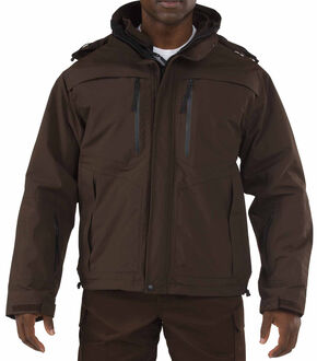 5.11 Tactical Valiant Duty Jacket, Brown, hi-res