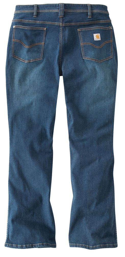 Carhartt Women's Relaxed Fit Medium Indigo Jasper Jeans, Med Indigo, hi-res