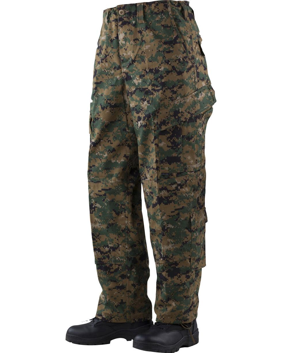 Tru-Spec Tactical Response Camo RipStop Uniform Pants, Hrdwd Camo, hi-res