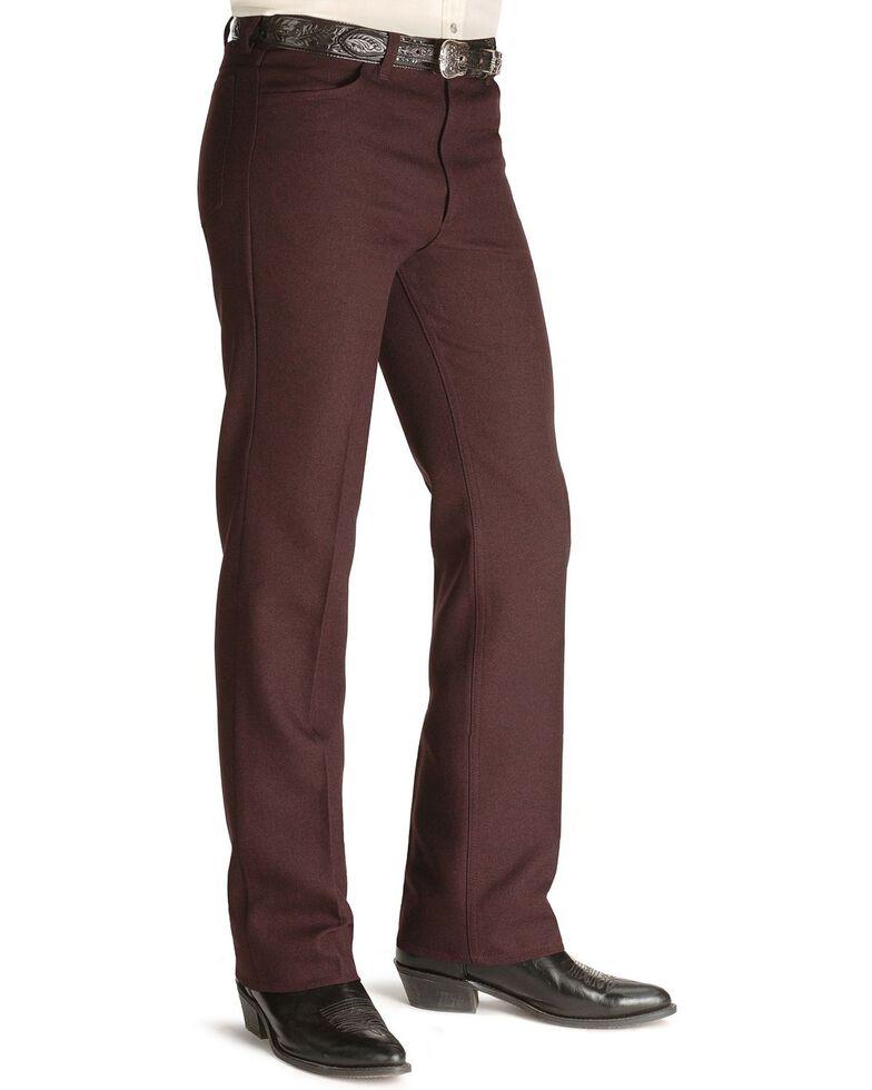 Wrangler Wrancher Dress Jeans - Big, Hthr Burg, hi-res