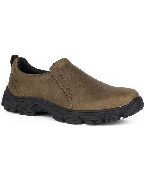 Roper Men's Brown Lightfoot Casual Shoes, Brown, hi-res