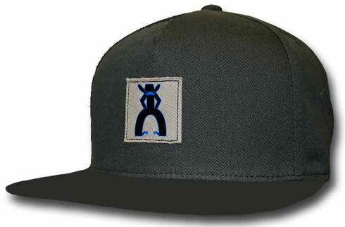 HOOey Men's Punchy Black Trucker Hat, Black, hi-res