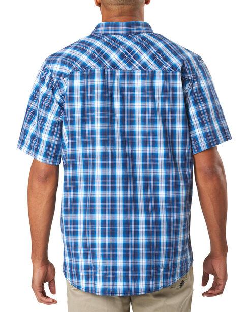 5.11 Tactical Men's Blue Breaker Short Sleeve Shirt , Blue, hi-res