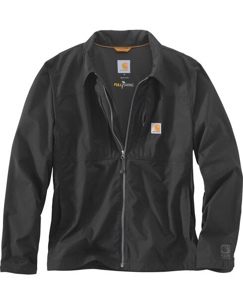 Carhartt Men's Full Swing Briscoe Jacket - Big & Tall, Black, hi-res