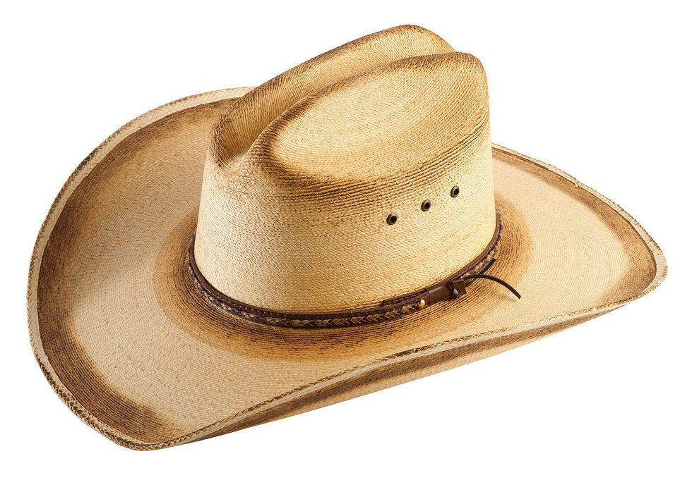 44db2775f0d Jason Aldean Georgia Boy Palm Leaf Cowboy Hat