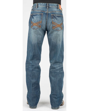 Stetson Men's Modern Fit Jeans - Boot Cut, Blue, hi-res