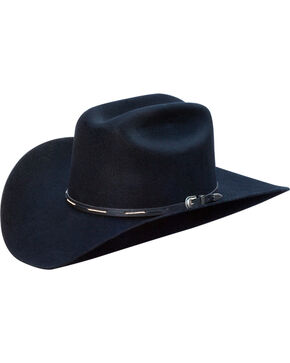 Silverado Men's Calvin Western Hat , Black, hi-res