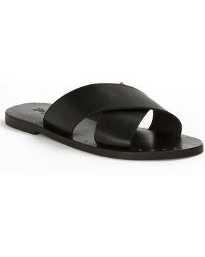 Frye Women's Ally Criss Cross Sandals , Black, hi-res