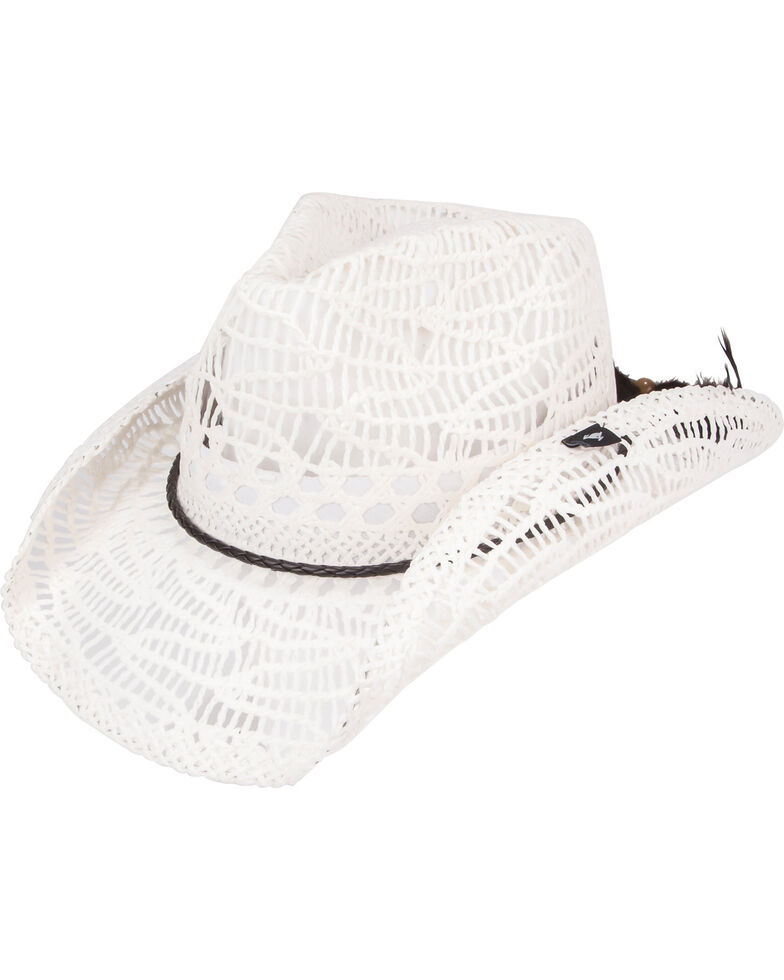 Peter Grimm Women s Abilene Straw Cowgirl Hat  ace105f6349