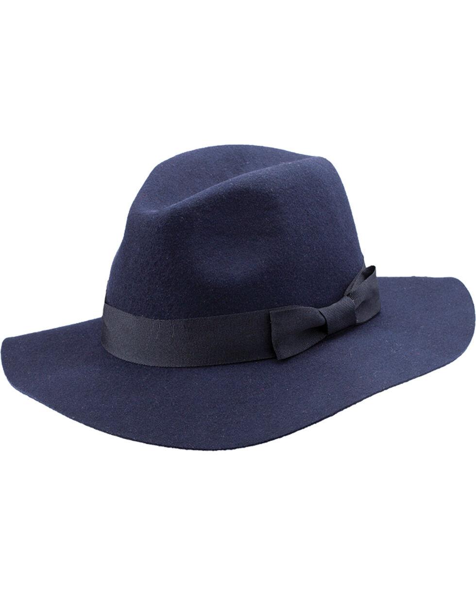 Peter Grimm Women's Bristol Navy Wool Hat, Navy, hi-res