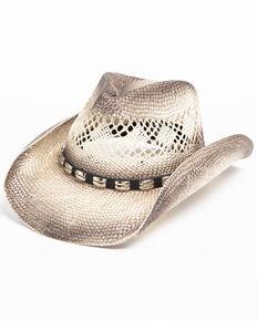 a325341e1cf1a2 Cody James Mens Metal Hatband Cowboy Hat, Grey, hi-res