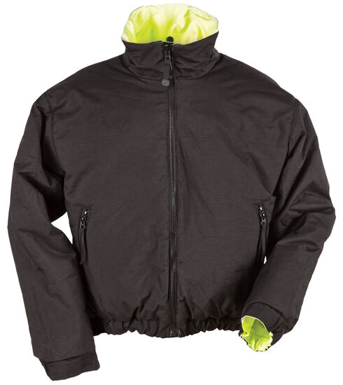 5.11 Tactical Reversible High-Visibility Jacket - 3XL and 4XL, Yellow, hi-res