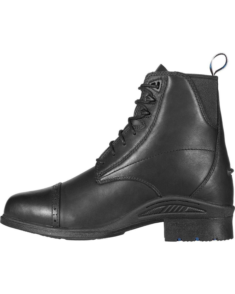 Ariat Performance Pro Lace-Up Black Boots, Black, hi-res