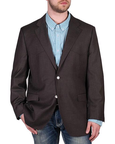 Cody James Men's Brown Fancy Sport Coat , Brown, hi-res