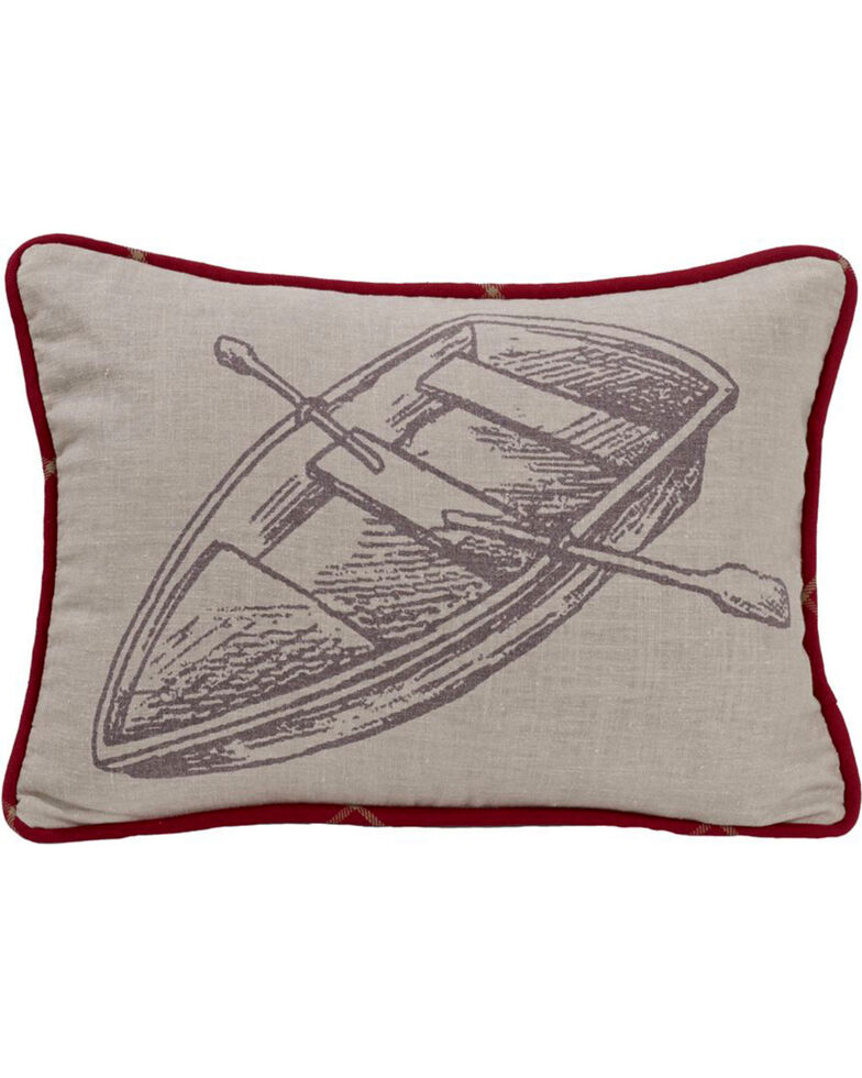 HiEnd Accents South Haven Rowboat Throw Pillow, Multi, hi-res