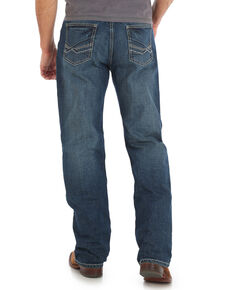 Wrangler 20X Men's No. 33 Extreme Relaxed Fit Jeans - Long, Blue, hi-res