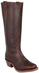 Boulet Shooter Cowboy Boots - Square Toe, Brown, hi-res