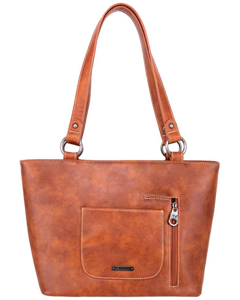 Montana West Women's Fringe Crossbody Bag, Tan, hi-res