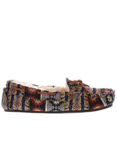 Lamo Women's Maya Slippers - Moc Toe, Multi, hi-res