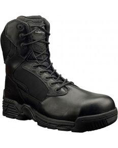 Magnum Men's Stealth Force Side Zip Work Boots - Composite Toe, Black, hi-res