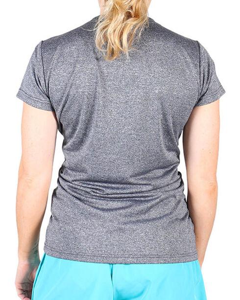 Ariat Women's Charcoal Grey Laguna Short Sleeve Top, Charcoal, hi-res