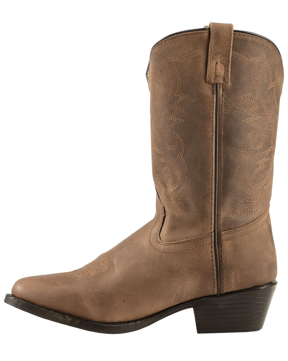 Cody James Youth Western Boots - Round Toe, Brown, hi-res