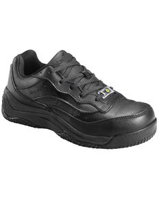 Nautilus Women's Black Ego Slip-Resistant Work Shoes - Composite Toe , Black, hi-res