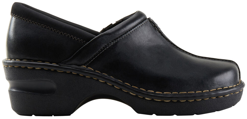 Eastland Women's Black Kelsey Slip On Clogs , , hi-res