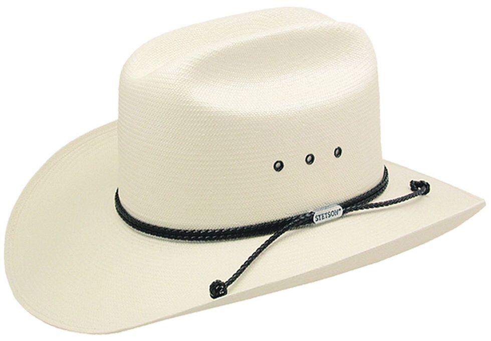 09017ea70c668 Stetson Carson 10X Shantung Straw Cowboy Hat