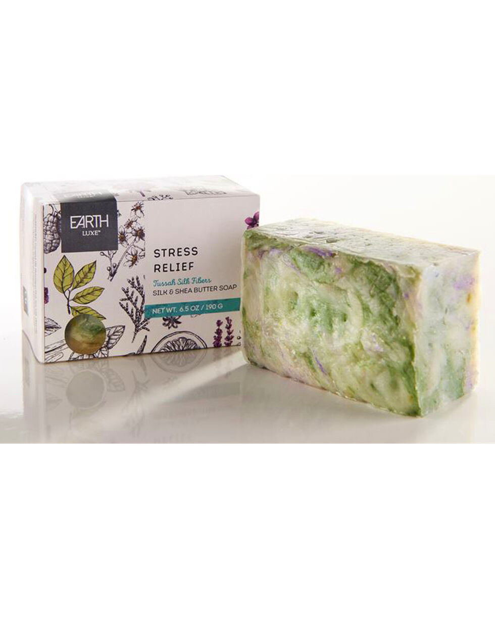 Earth Luxe Stress Relief Shea Butter Soap, No Color, hi-res