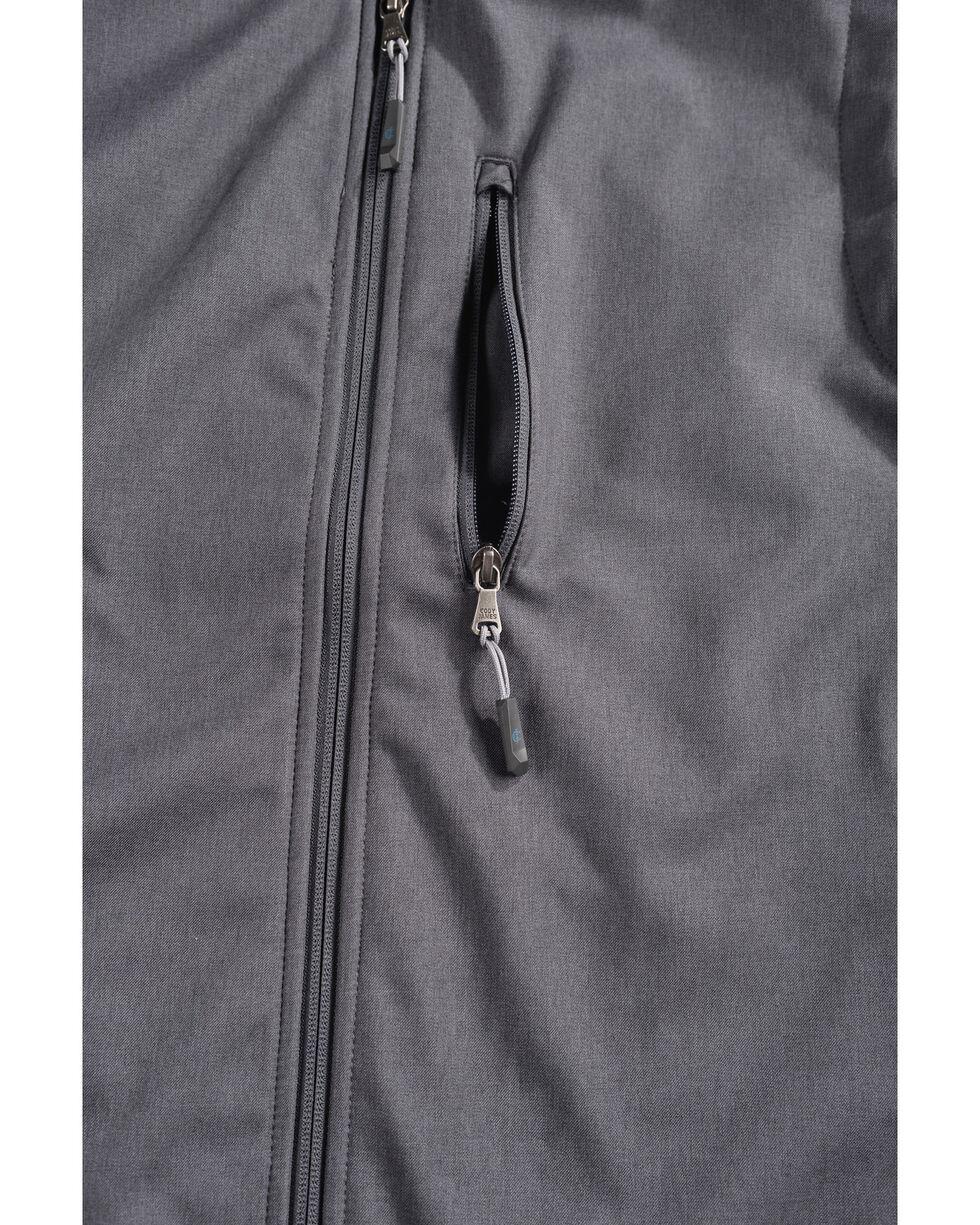 Cody James Men's Zip Vest - Big & Tall, Charcoal, hi-res