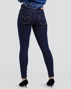 Levi's Women's 721 High Rise Skinny Jeans , Indigo, hi-res