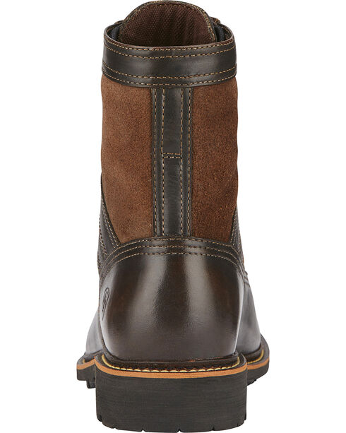 Ariat Easy Street Men's Lace Up Boots, Bronze, hi-res