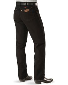 "Wrangler Jeans - 13MWZ Original Fit Prewashed Colors - Big 44"" to 52"" Waist, Shadow Black, hi-res"