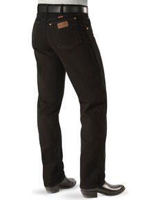 "Wrangler Jeans - 13MWZ Original Fit Prewashed Colors - Big 44"" to 52"" Waist, Shadow Black, hi-res"