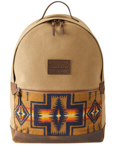 Pendleton Women's Harding Tan Backpack, Tan, hi-res