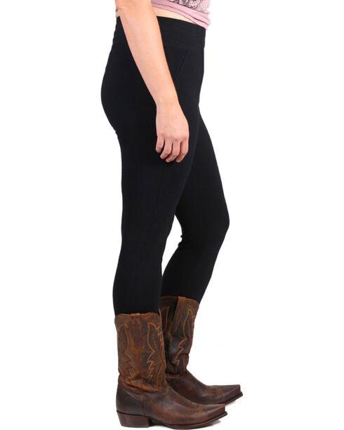 Boom Boom Jeans Women's Black Leggings - Plus, Black, hi-res