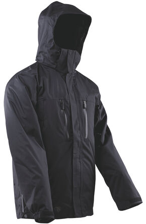 Tru-Spec Men's H2O Proof Element Jacket, Black, hi-res