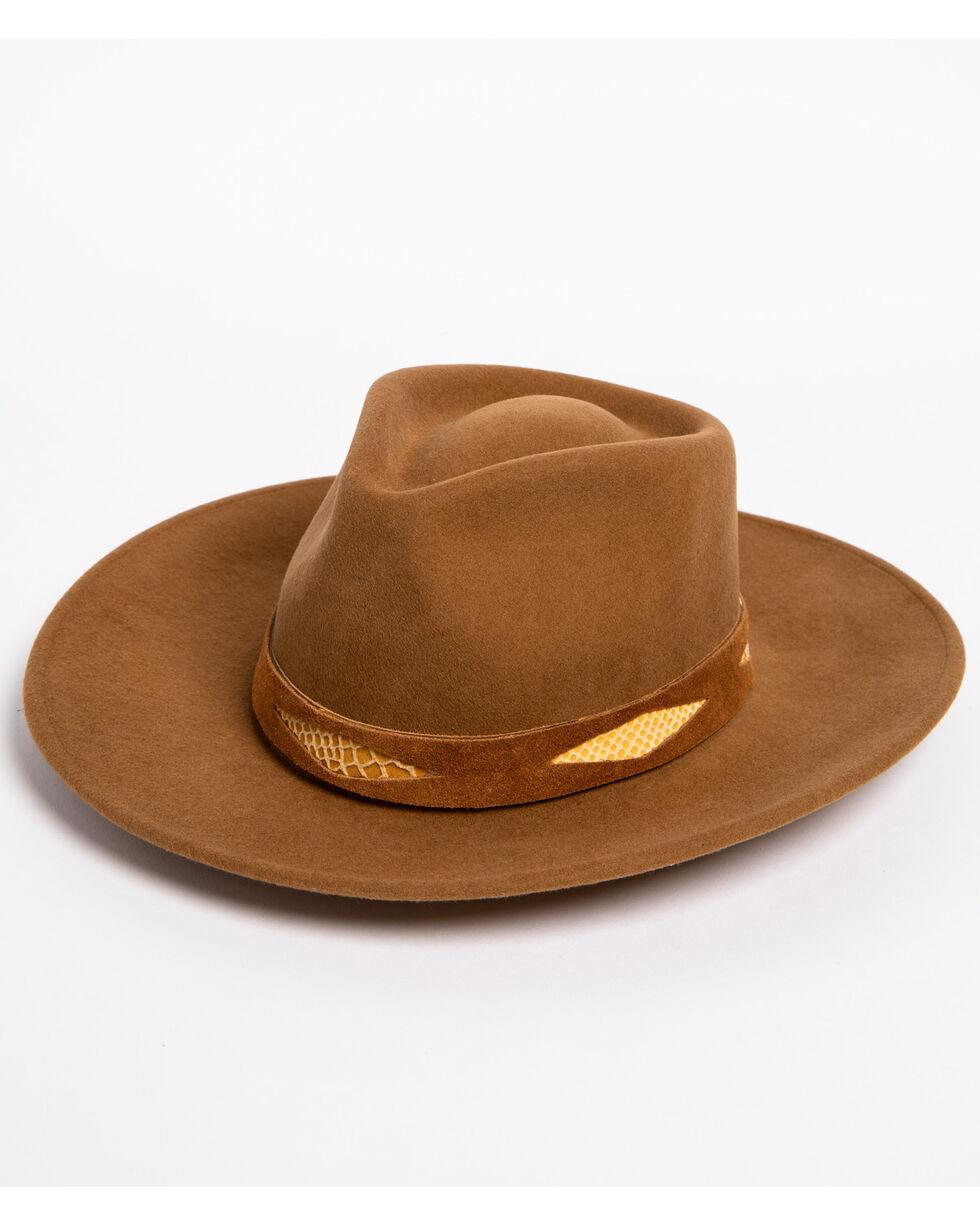 ále by Alessandra Women's Cobra Felt Hat , Dark Brown, hi-res